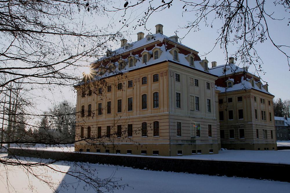 Schloß Wachau im Winter