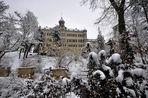 ..........::::::::::::::::::: Schloss Waldenburg im Schnee / Sachsen :::::::::::::::::..........