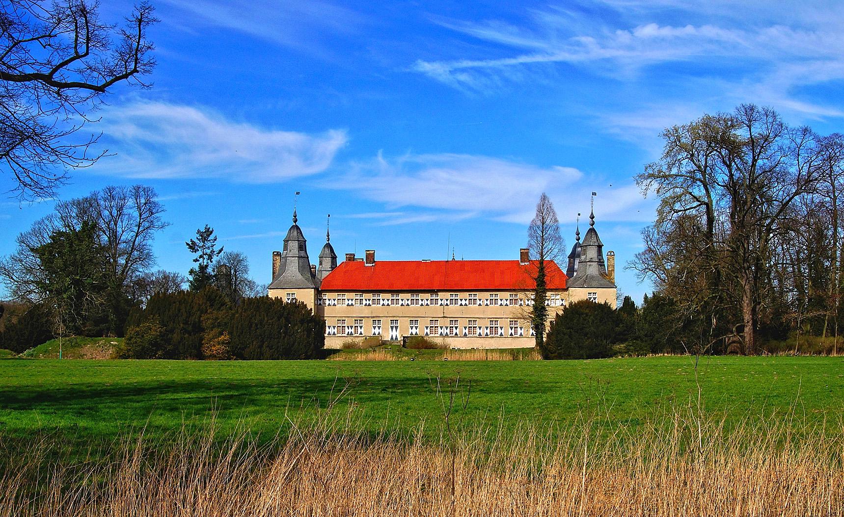 Schloss Westerwinkel in Ascheberg Herbern....