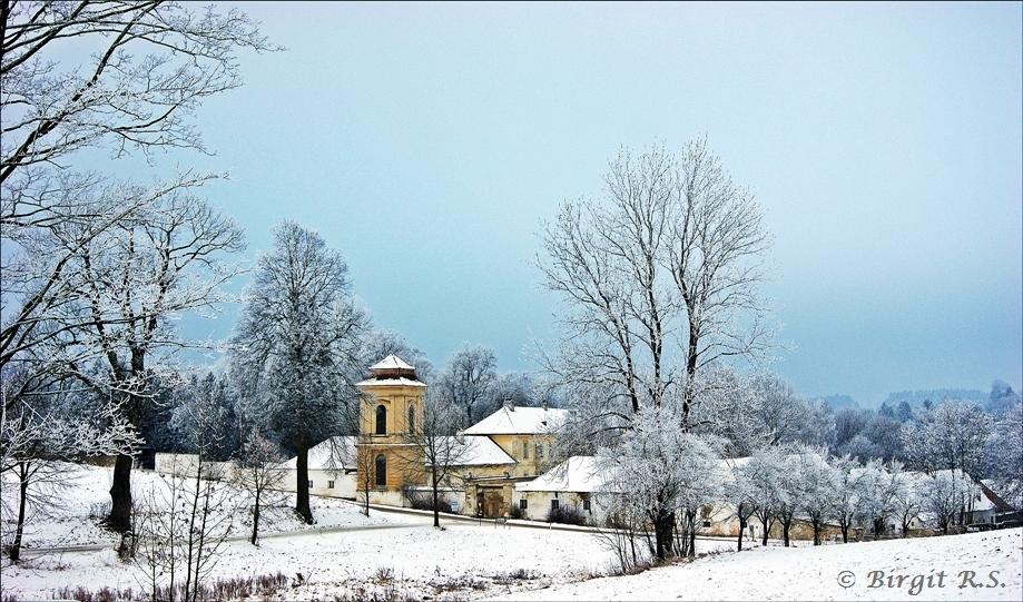 Schloss Wetzlas im Winter