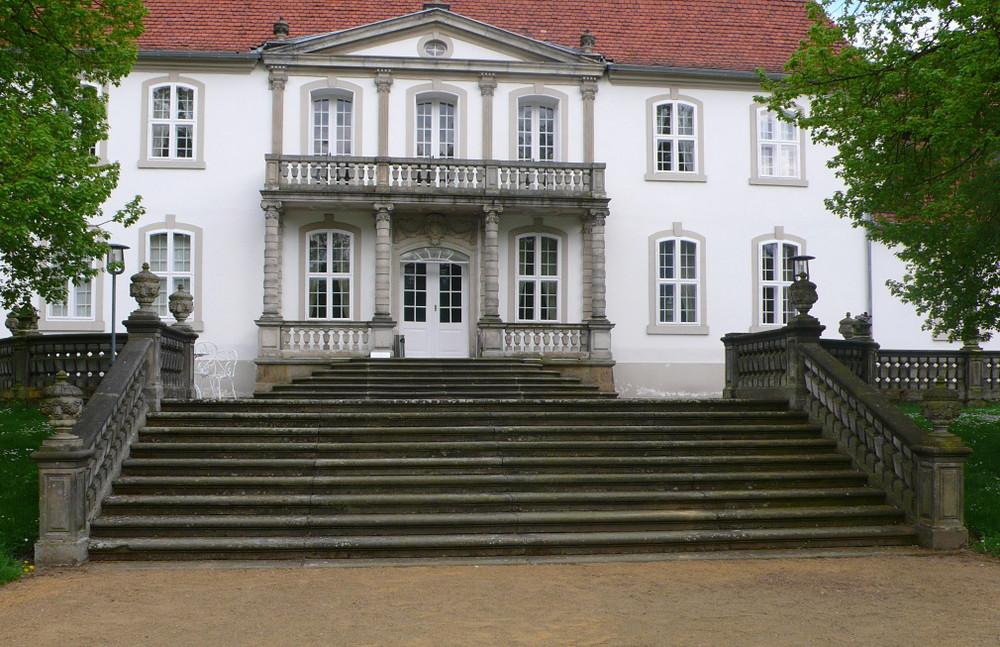Schloss Wiepersdorf Gartenfront