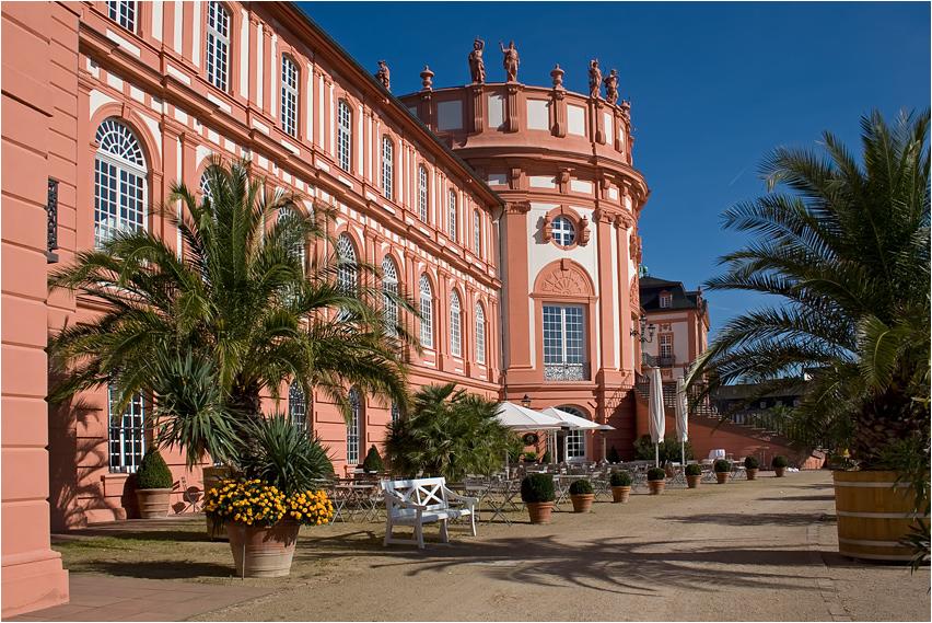 Schloss Wiesbaden Biebrich Foto & Bild