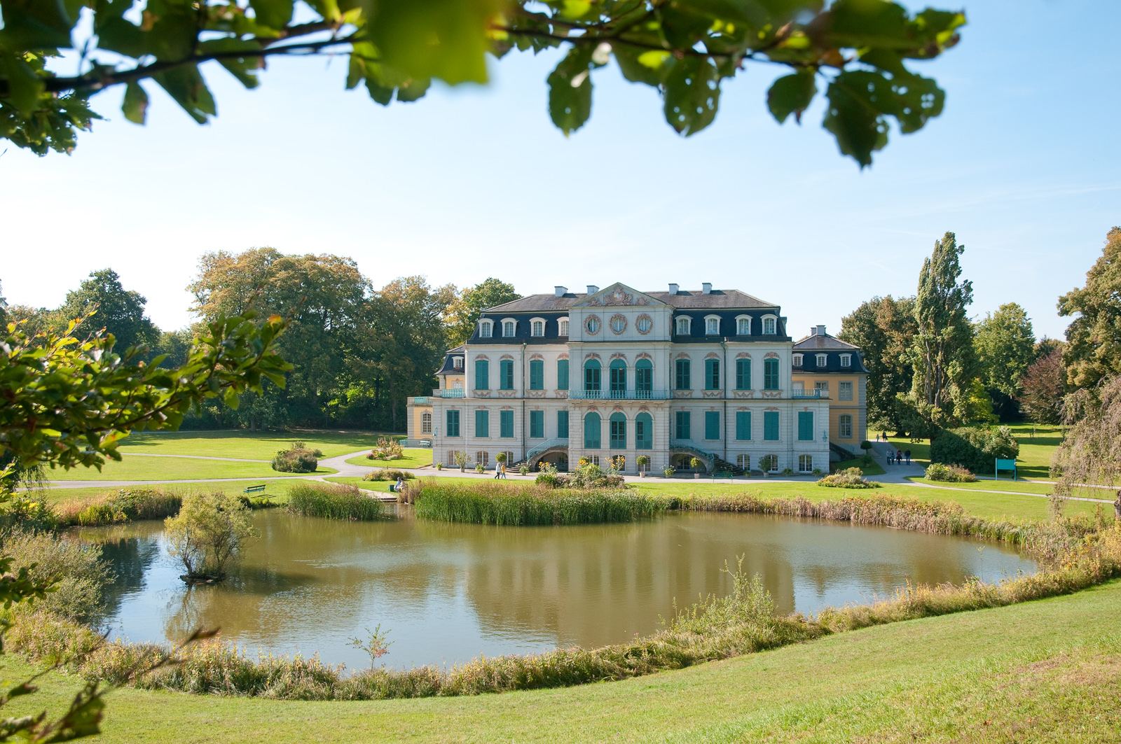 Schloss Wilhelmstal, nahe Kassel/Calden
