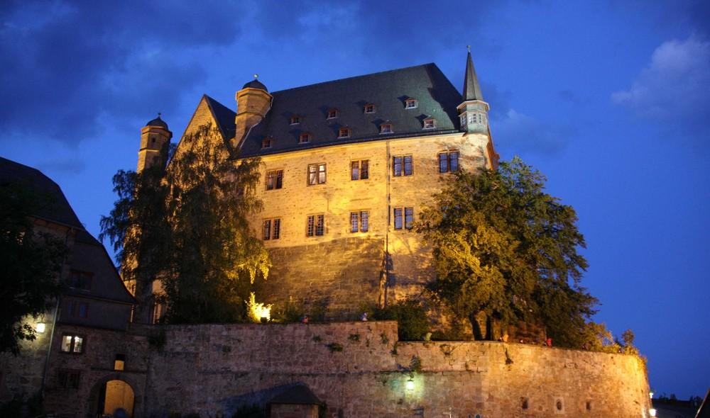 Schlossansichten in Marburg 1