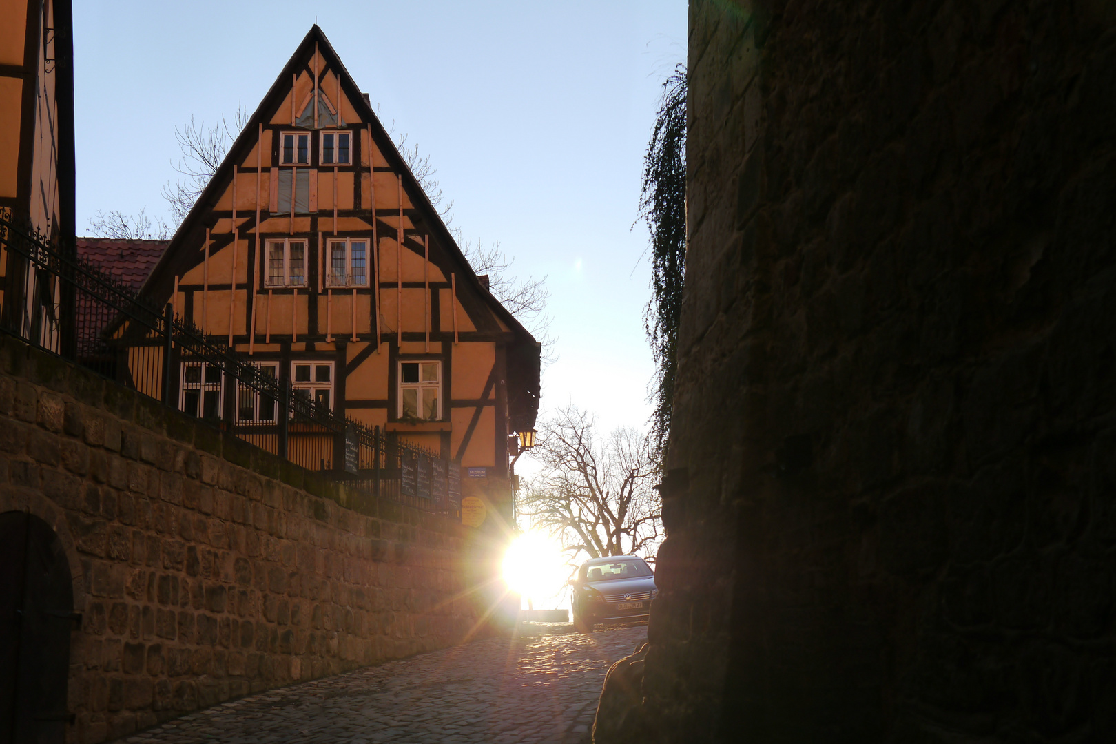 Schlossberg Quedlinburg - Zum Lichte empor