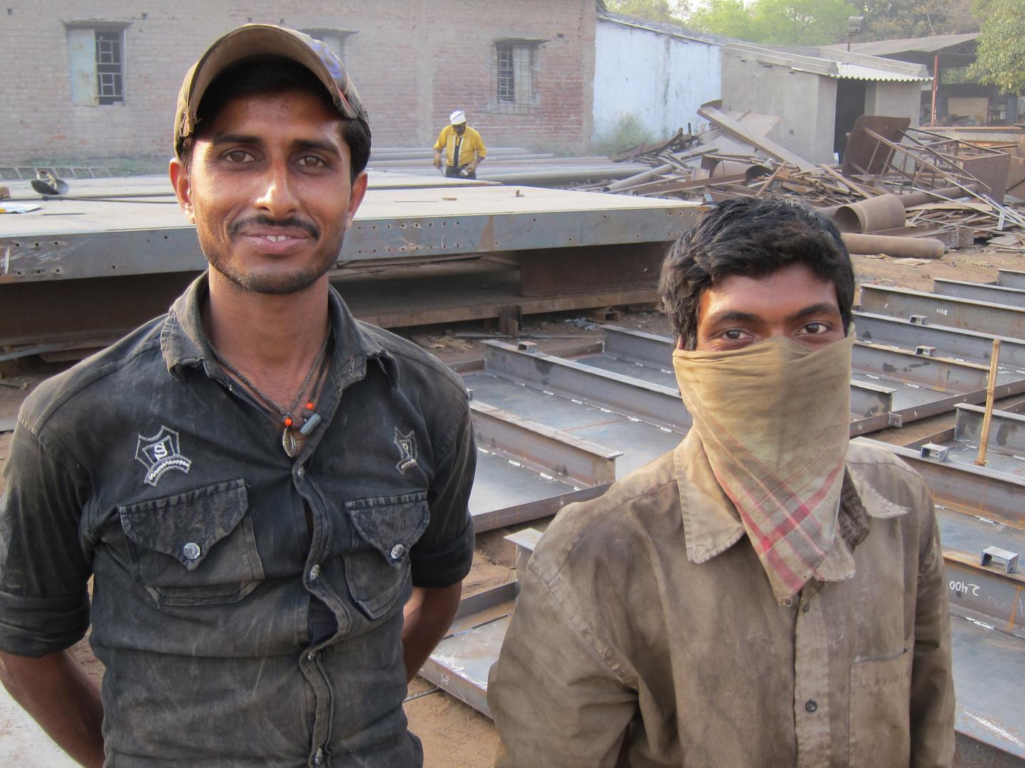 Schlosser in Orissa