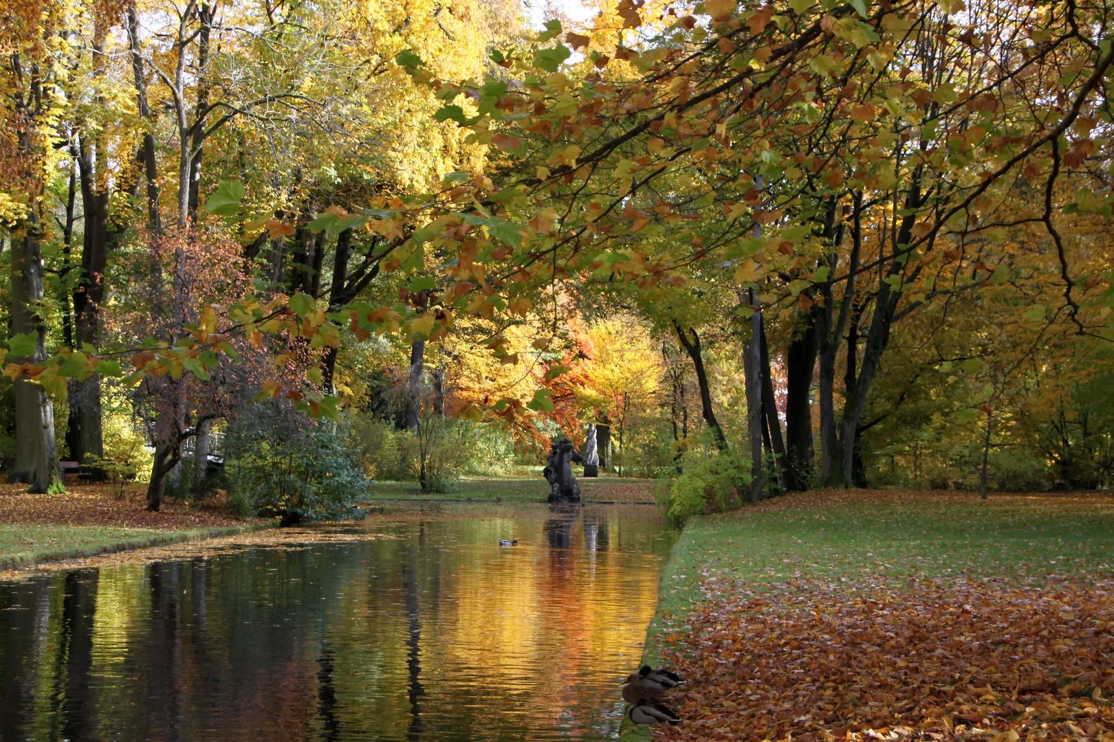 Schloßgarten in Bayreuth II