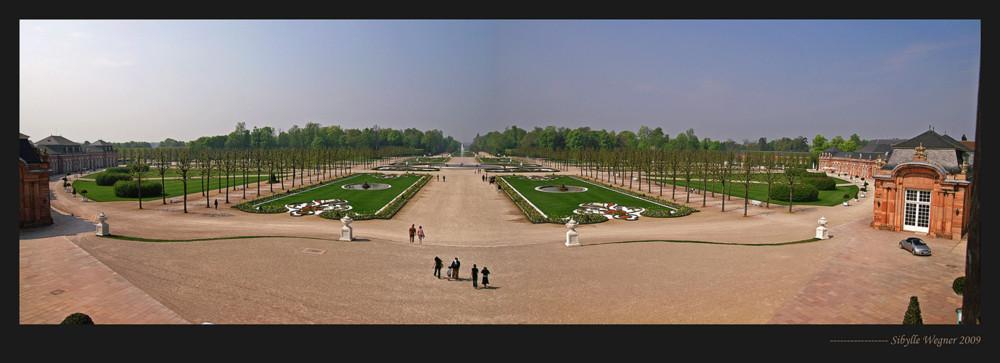 Schloßgarten in Schwetzingen nochmal, aber größer!
