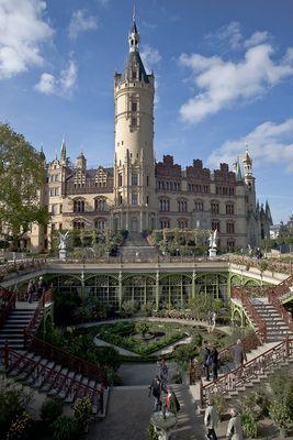 Schlossgarten Schweriner Schloss
