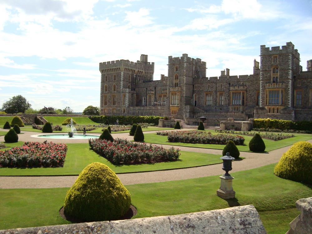 Schlossgarten vom Windsor Castle