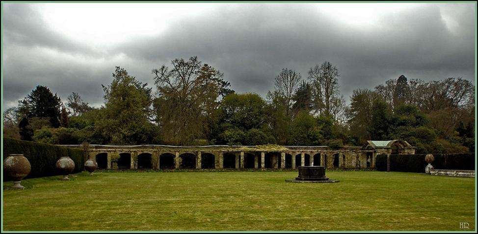 Schlossgarten von Hever Castle.