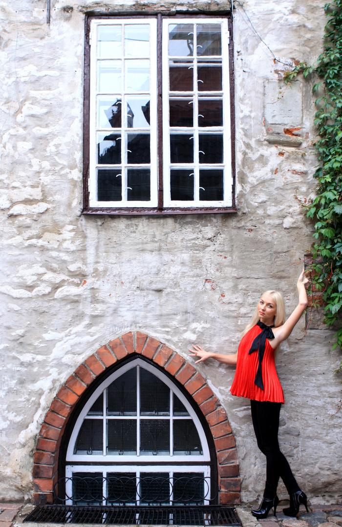 Schlossherrin am Schwedischen Tor