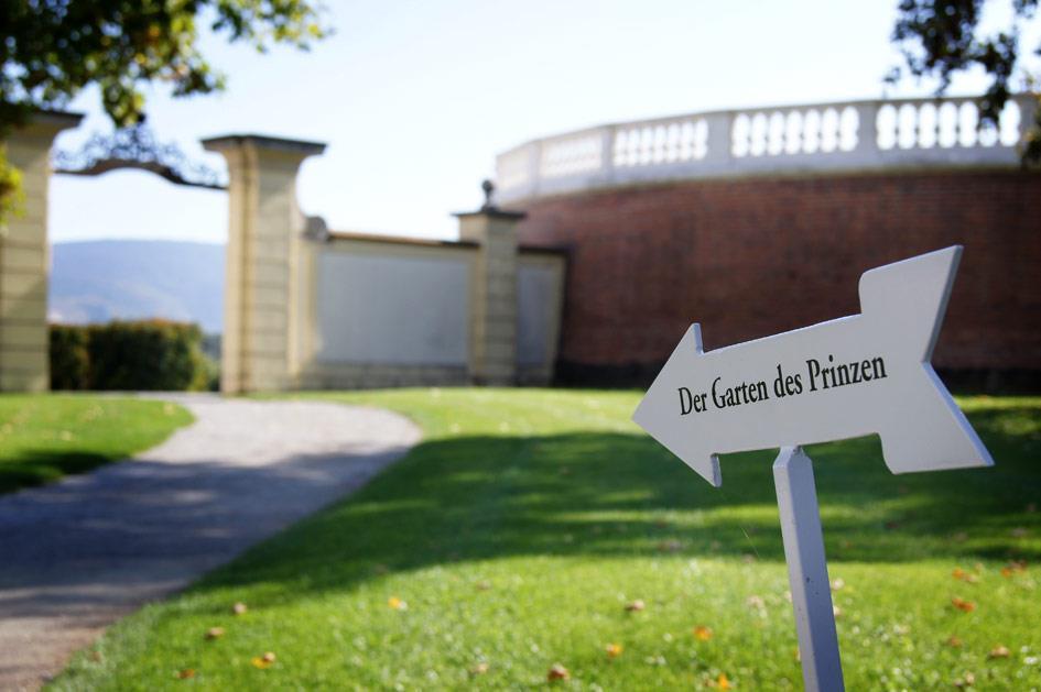 Schloßhof - Garten des Prinzen
