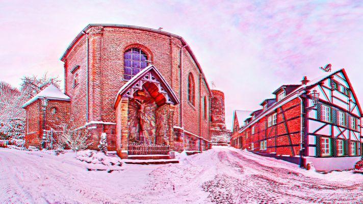 Schlosskapelle HDR 3D-Stereo Panorama