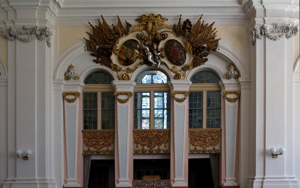 Schlosskirche Weilburg.