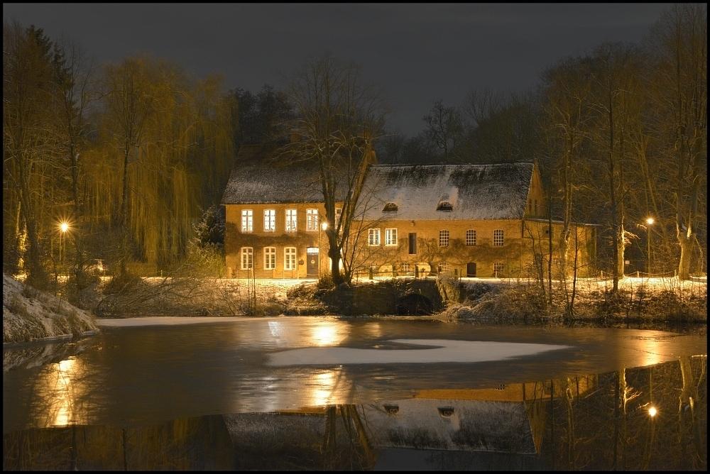 Schloßmühle am Mühlenredder ....