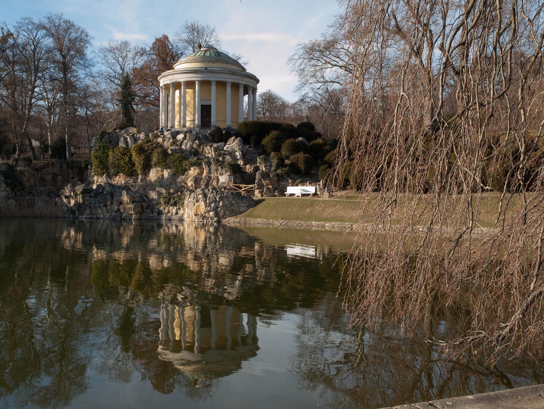 Schlosspark Eisenstadt/Österreich