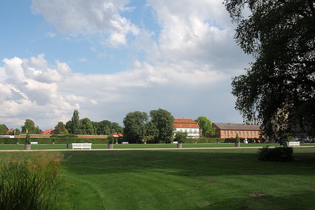 Schlosspark Ludwigslust.