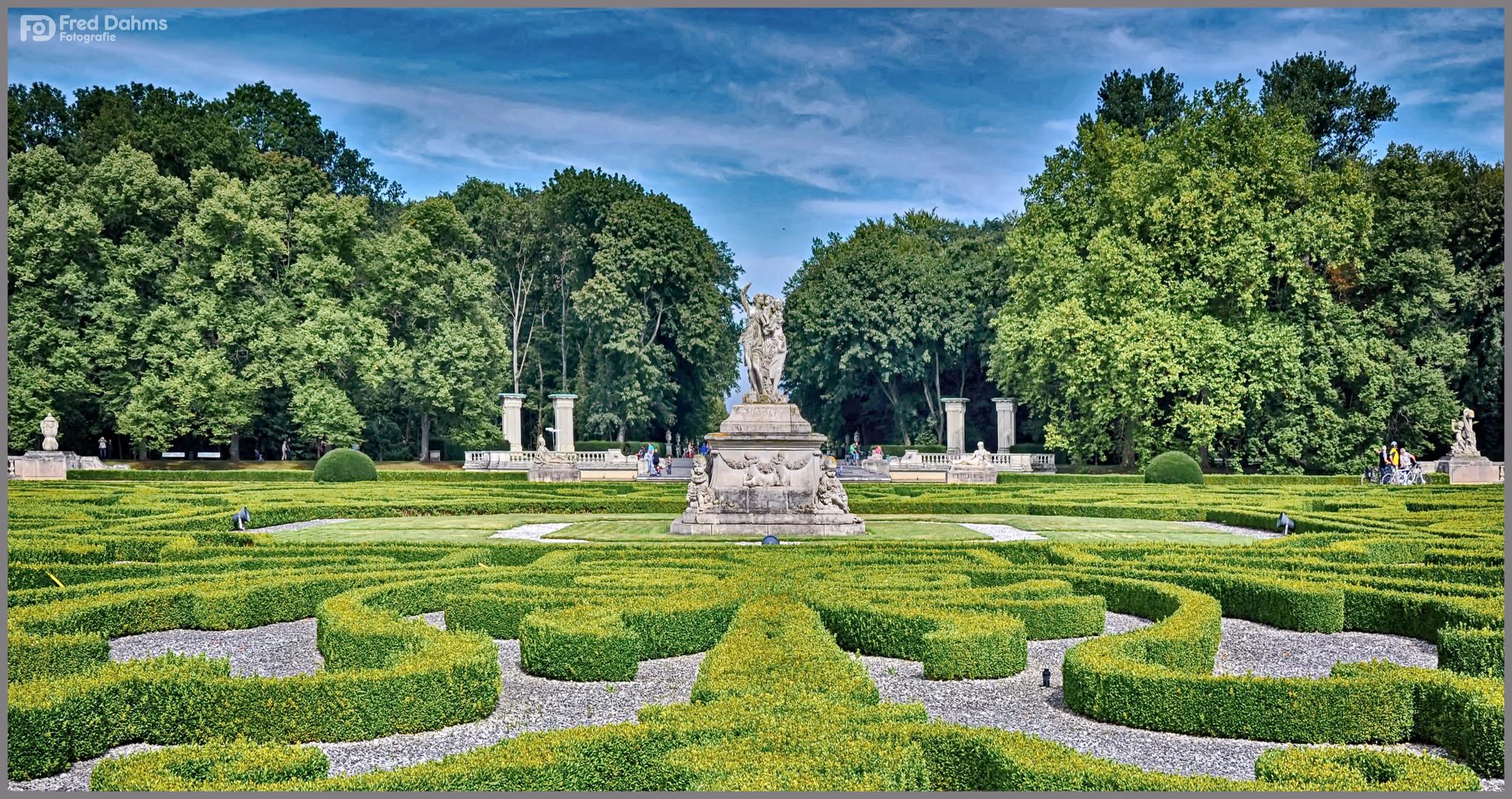 Schlosspark. Schloss Nordkirchen