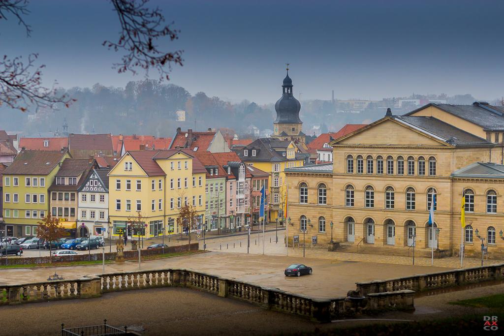 Schloßplatz Coburg ..