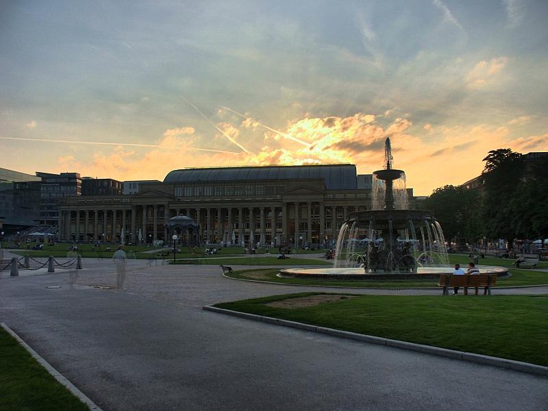 Schlossplatz in Stuttgart 2