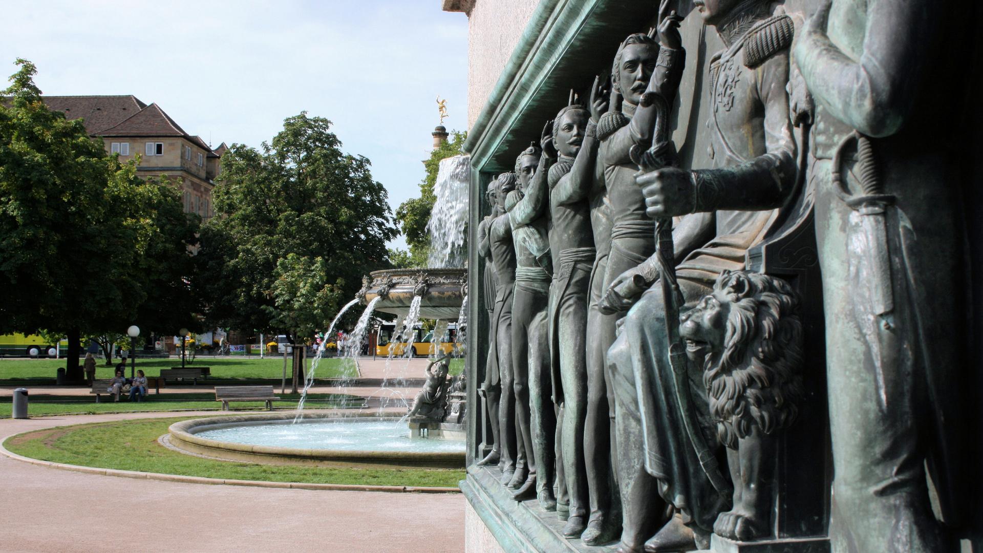 Schloßplatz in Stuttgart