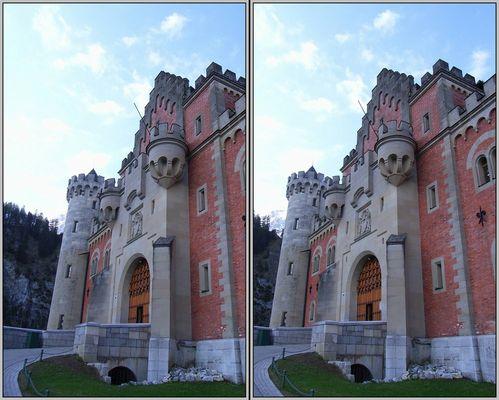Schlossportal 3D