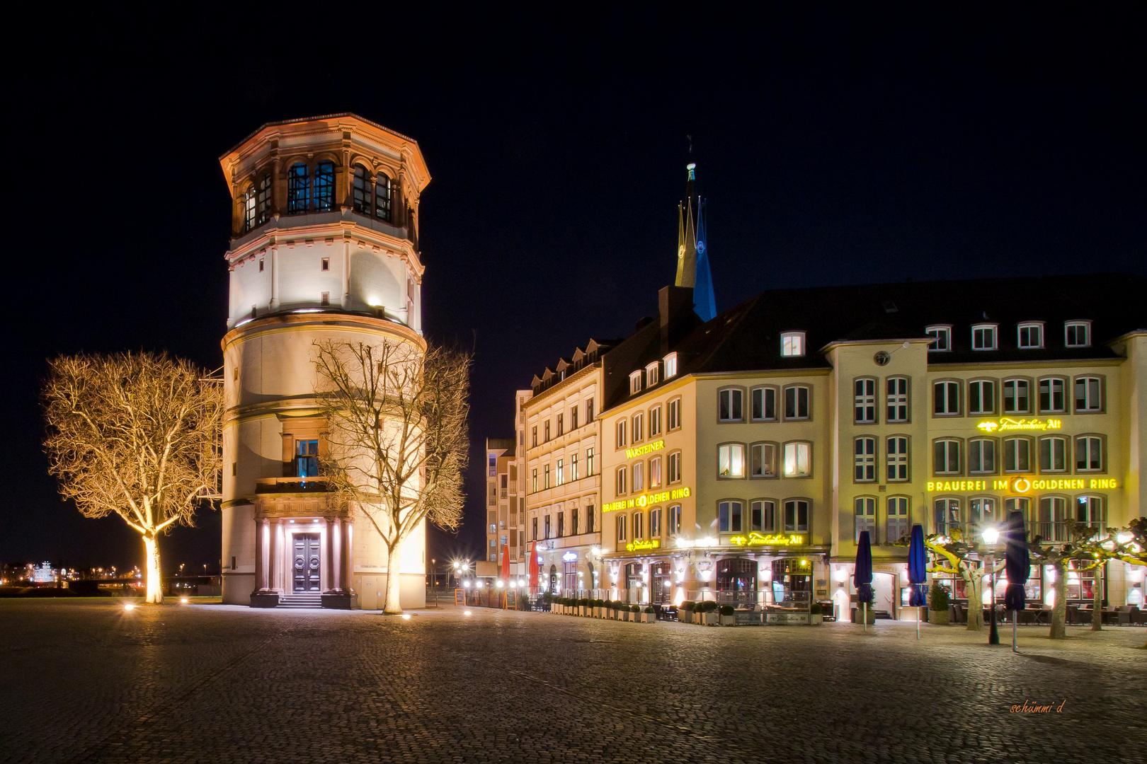Schloßturm bei Nacht