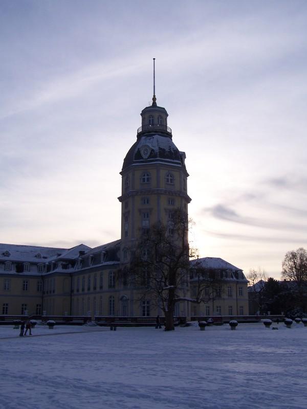 Schlossturm im Winter