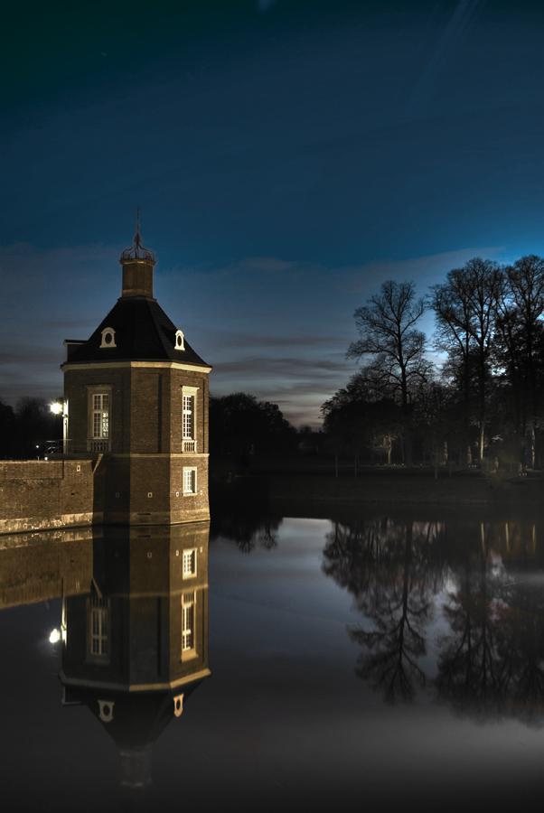 Schlossturm Nordkirchen Abendstimmung