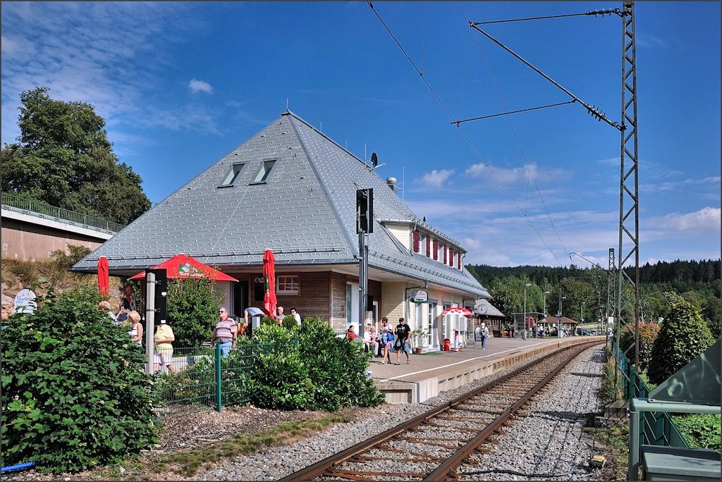 Schluchsee - Am Bahnhof