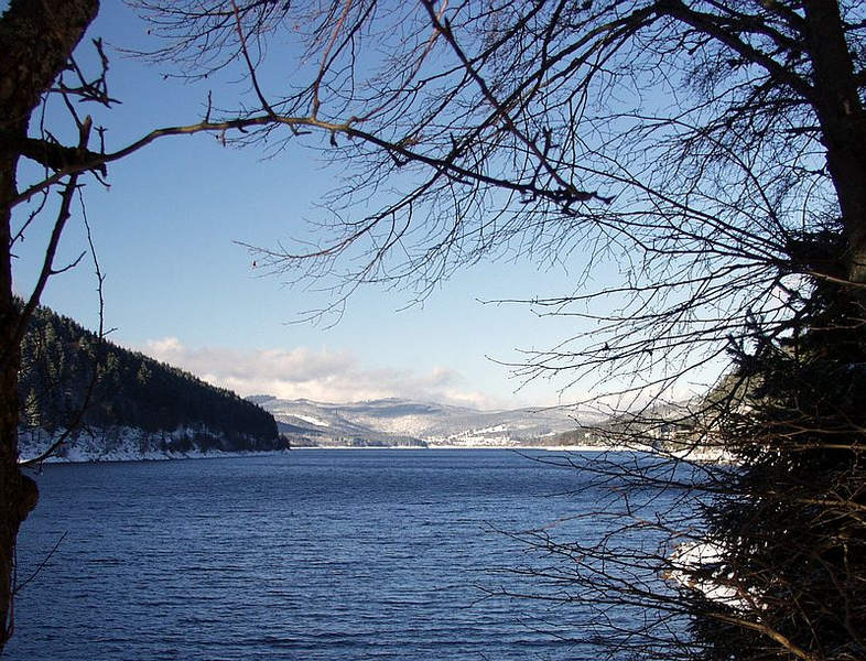 Schluchsee im Winter(2)