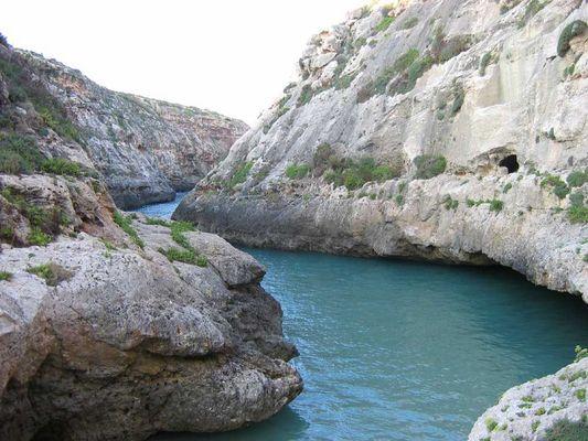 Schlucht auf Gozo