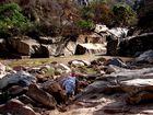 Schlucht im Mbuluhochland