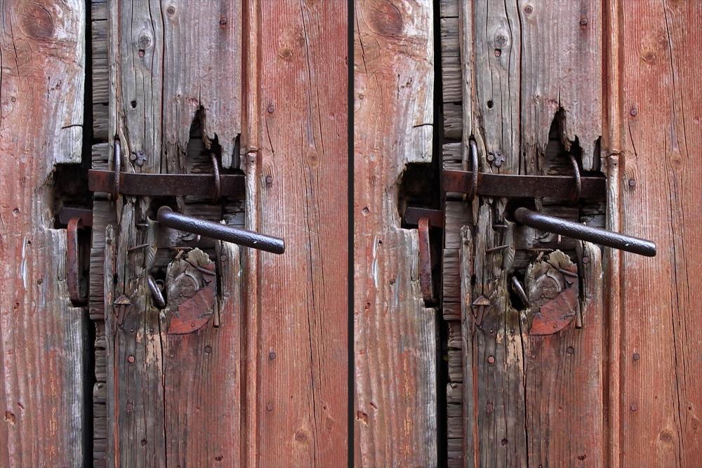 Schlüssel steckt