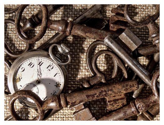 Schlüsseldienst zu U(h)r Opas Zeiten
