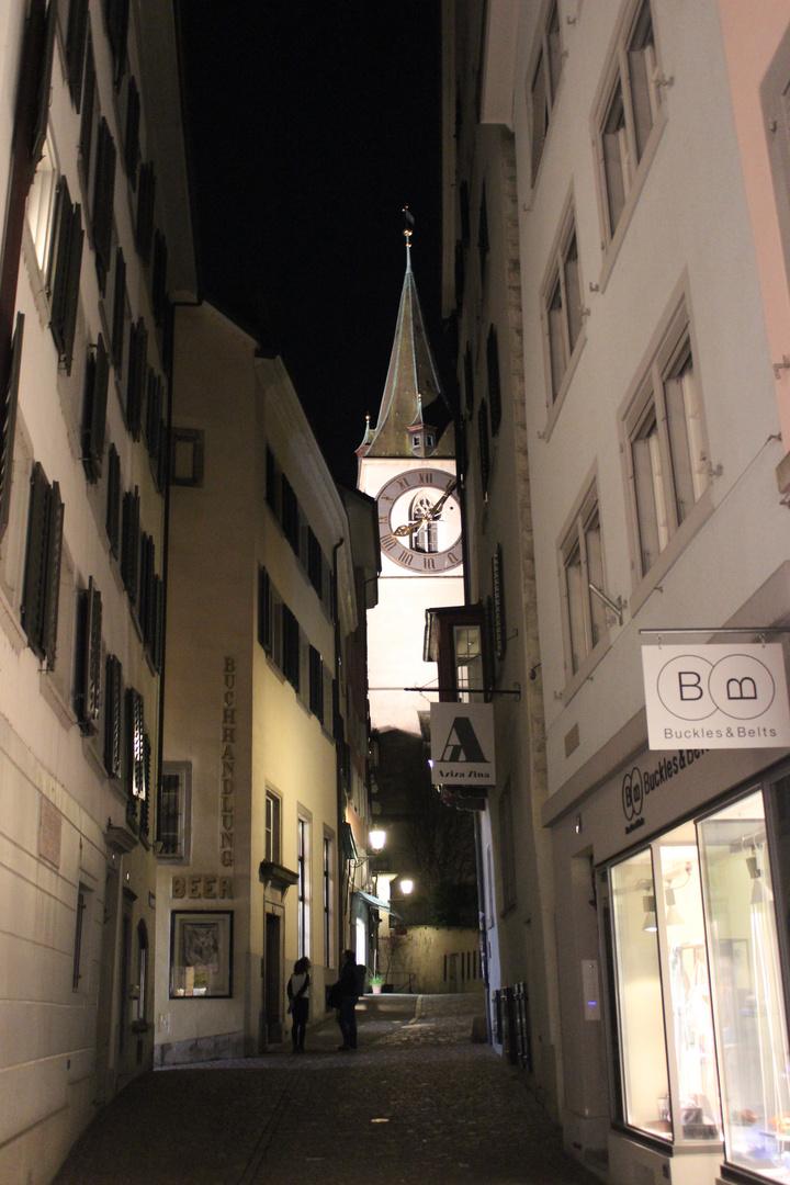 Schlüsselgasse in Zürich