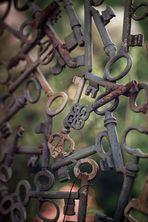 Schlüsselzaun