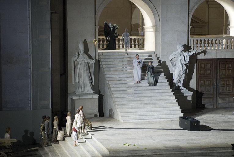 Schlussszene Jedermann Salzburger Festspiele 2007