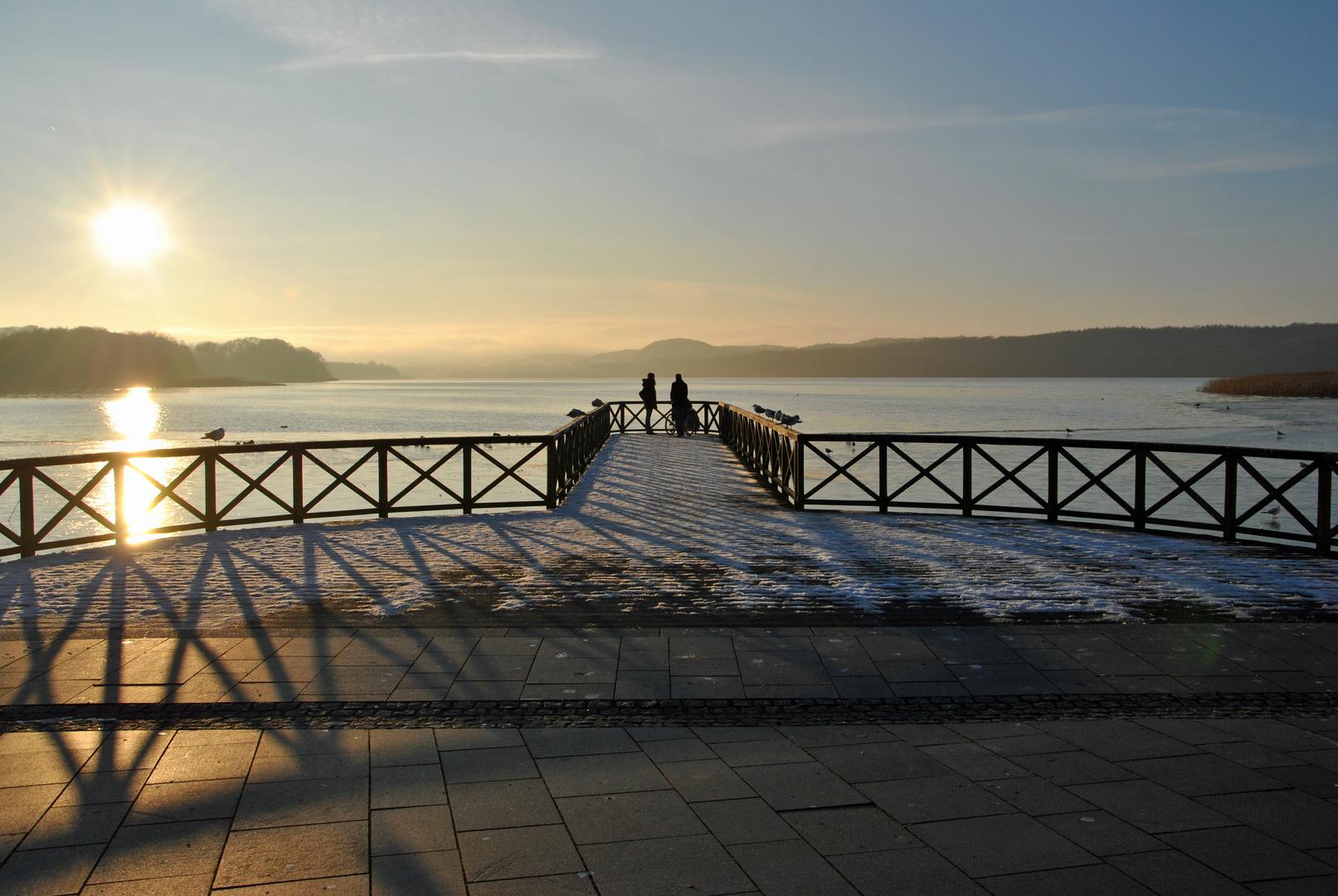 Schmachter See im Winter