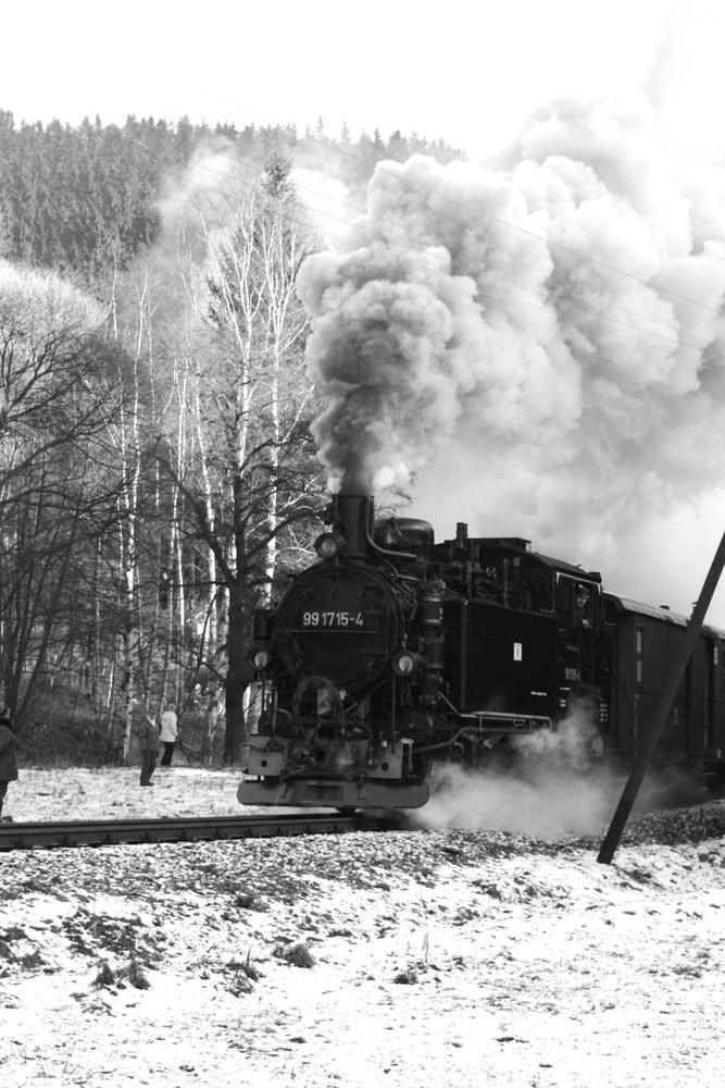 Schmalspurbahn bei Steinbach