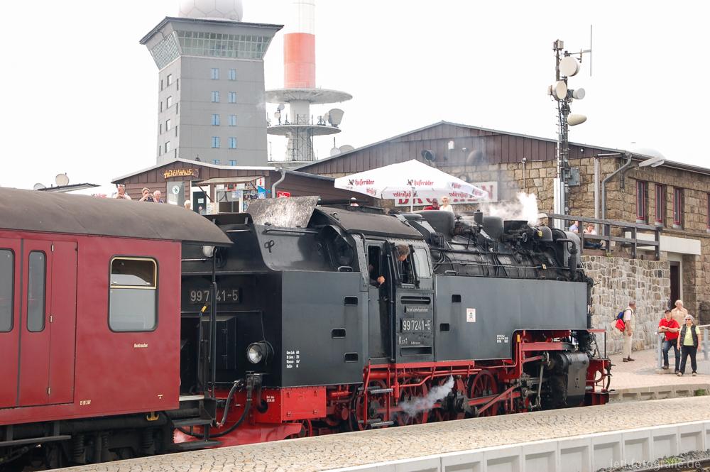 Schmalspurbahn Brocken 997241 Neubaulokomotive der Deutschen Reichsbahn