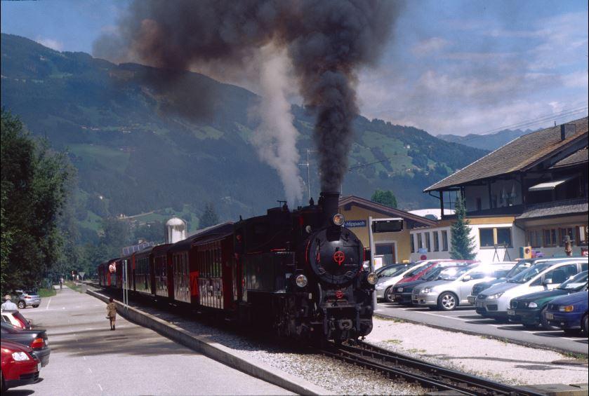 Schmalspurbahn im Zillertal