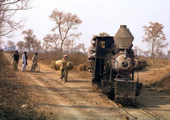 Schmalspurbahn in Pakistan