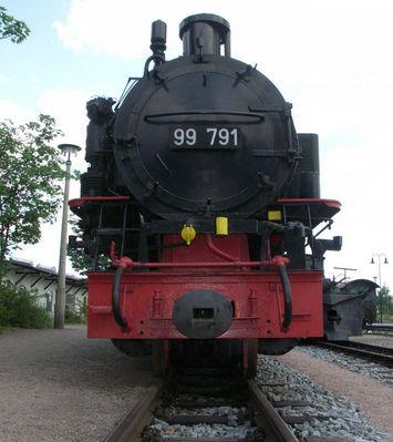 Schmalspurlokomotive BR 99 791