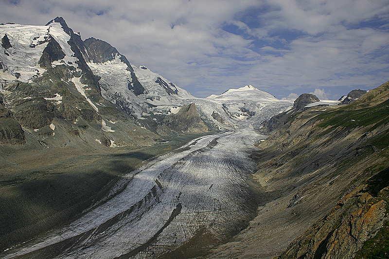 ...schmelzende Gletscher...