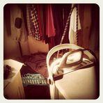 Schmutzige Wäsche wird auch nach dem Waschen nicht weniger, nur sauber ;)