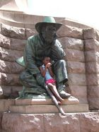 Schnappschuß am Krüger Denkmal