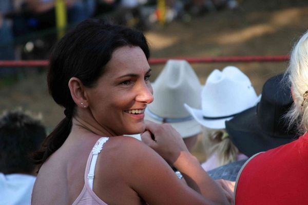 Schnappschuss - Rodeo 2004 im Emsland