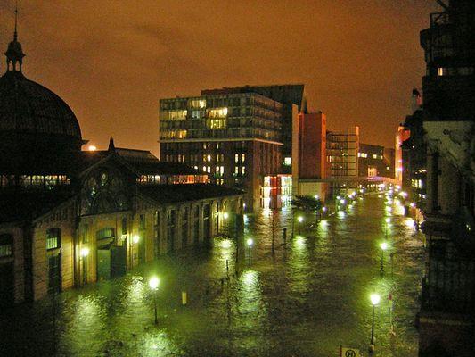 Schnapschuss vom Hochwasser 2
